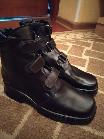 Ортопедические ботинки зима стелька 26 см р 39