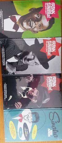 Frank Sinatra 4 colectâneas que retratam a sua a carreira 8 CDs novos
