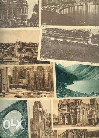 Colecção de 55 postais antigos de vários países