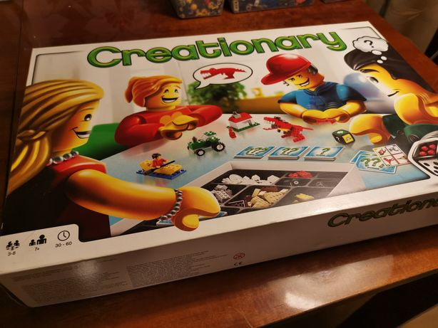 Lego 3844 Creationary. Komplet.