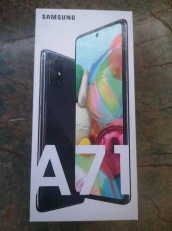 Nowy telefon Samsung A71, 128GB, nie używany zaplombowany.