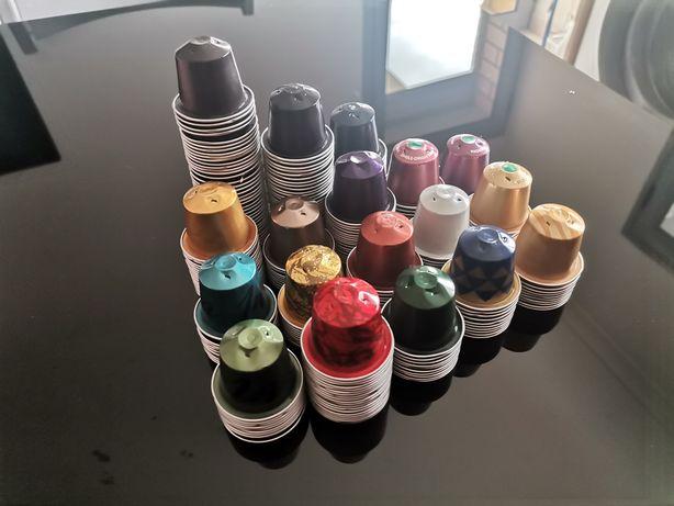 400 Cápsulas Nespresso limpas (várias cores)