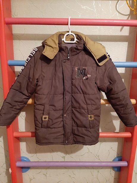 Продам куртку рост 122-128