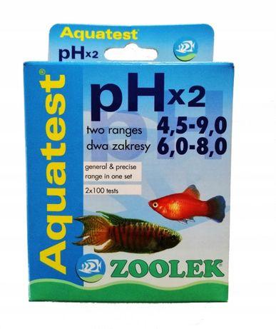 Aquatest pHx2, ZOOLEK, dwa zakresy pomiaru