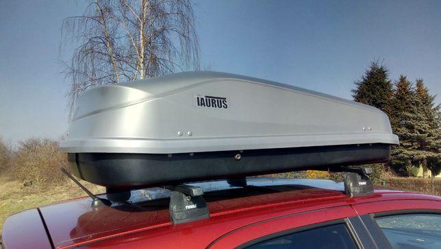 Box bagażnik dachowy TAURUS Easy 420 szary