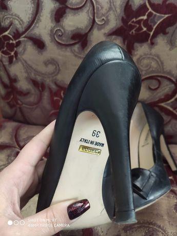 Туфли кожа итальянские