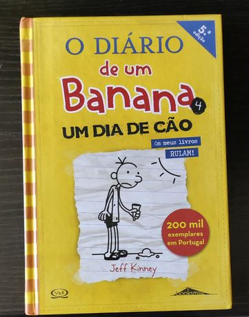 """Dois livros 10€ """"Diário de um Banana"""""""