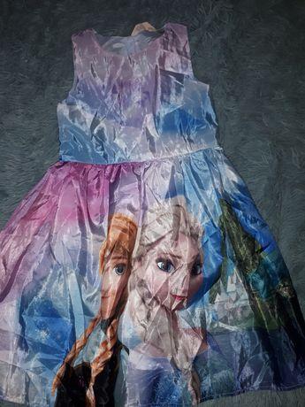 Sukienka elza kraina lodu 140