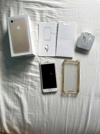 iPhone 7 128GB Biało Złoty, po wymianie baterii