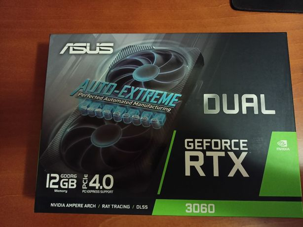 GeForce RTX 3060 ASUS Dual 12 GB