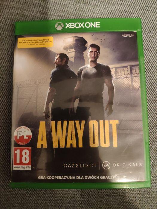 A way out PL płyta Xbox one x s fat series x s ładny stan Toruń - image 1