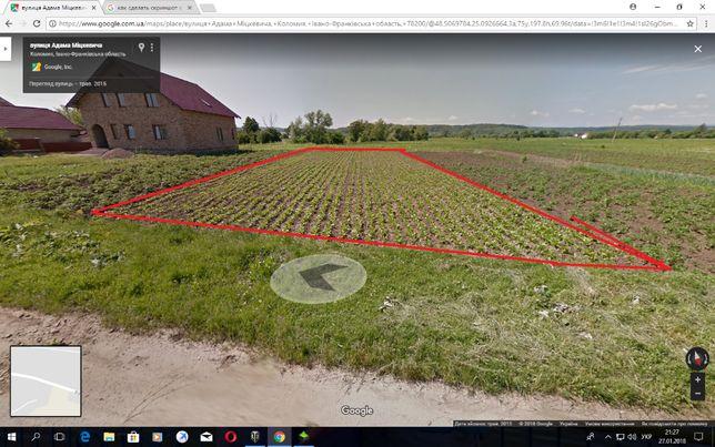 земельна ділянка 15 сотик