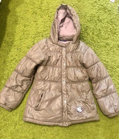 Продам теплую курточку куртку 128 р