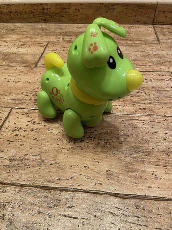 Інтерактивна іграшка собачка, укр мова, співає, танцює