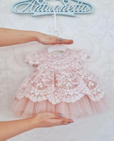 Платье от 0-6 м, 1000р