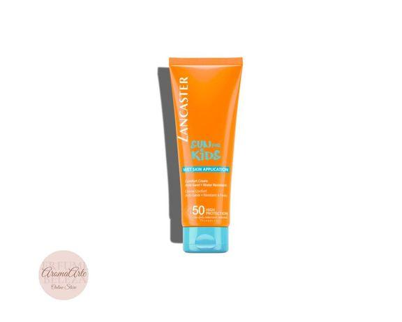Lancaster Sun Kids Comfort Cream Wet Skin Application SPF50