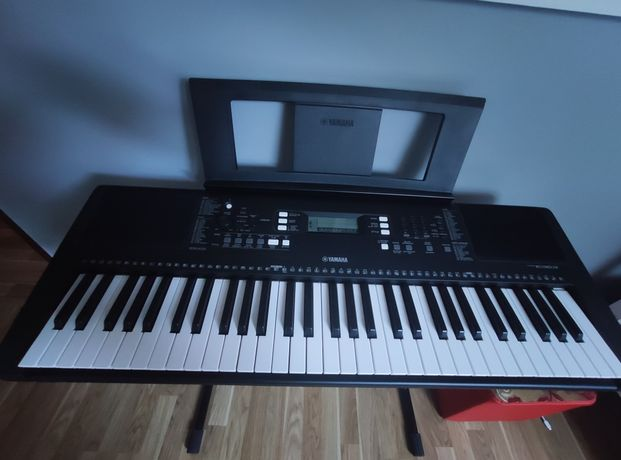 Keyboard Yamaha psr e363 + wszystkie dodatki