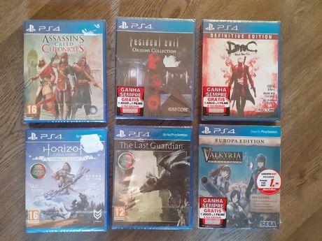 Jogos PlayStation 4 PS4 selados
