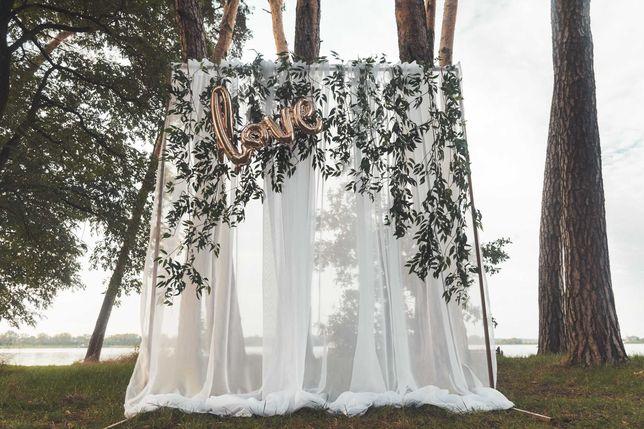 Ścianka na ślub, wesele, tło do zdjęć