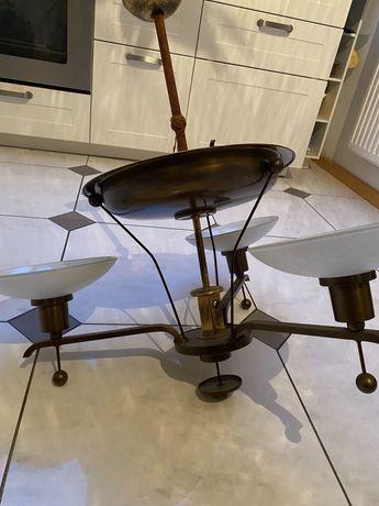 Stara lampa mosiężna