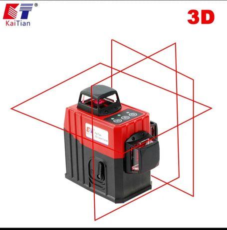 Kaitian laser 360 czerwony poziomica
