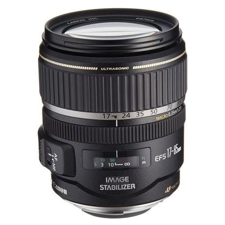 Canon EF-S 17-85 mm IS USM Reparação do erro 01 ou motor de foco