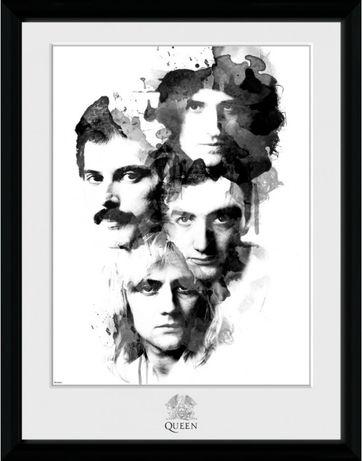 Poster QUEEN Edição Colecionadores - Emoldurado
