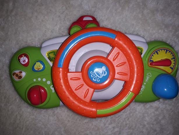Kierownica grająca dla dziecka