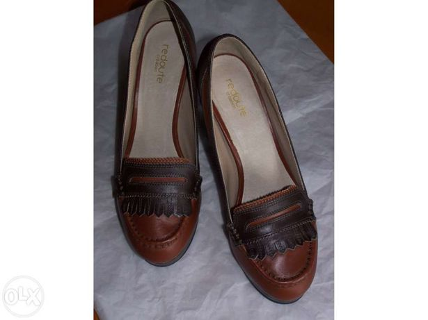 Sapatos la redoute (senhora) castanhos