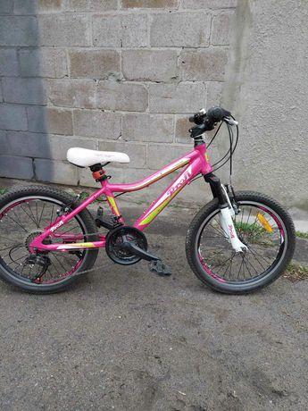 Велосипед для девочки на 6-8 лет