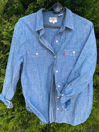 Błękitna koszula jeansowa Levis