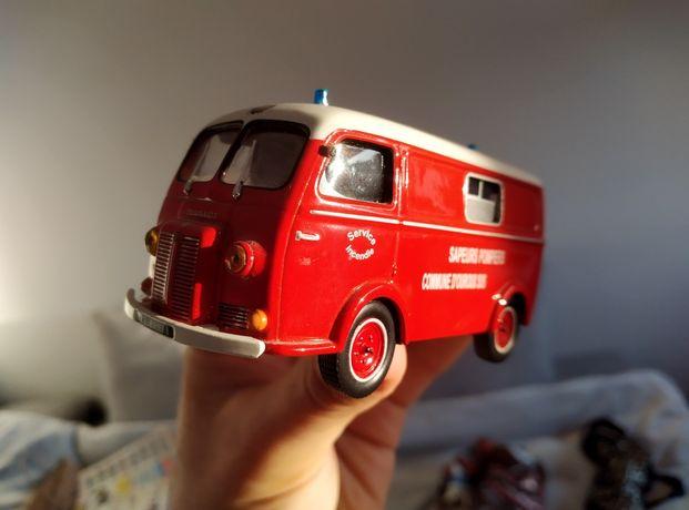 Peugeot D3A furgon model kolekcjonerski straż pożarna REZERWACJA