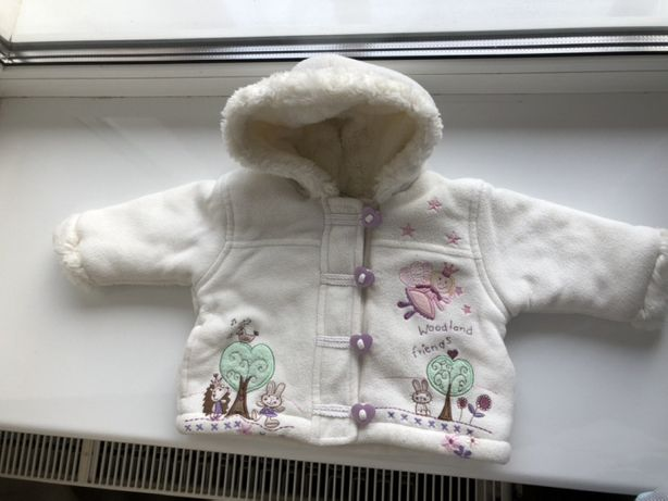 Курточка весна-осень для девочки 6-9 мес.
