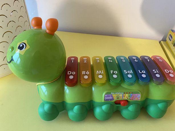 Brinquedo Musical lagarta