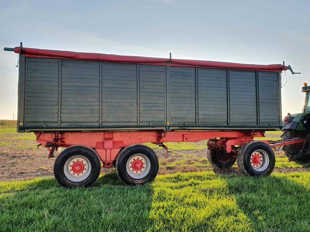 Przyczepa 3 osiowa wywrotka ciężarowo- rolnicza Kassbohrer