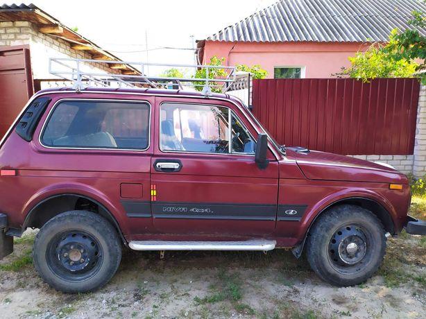 Автомобиль Ваз 2121 Нива