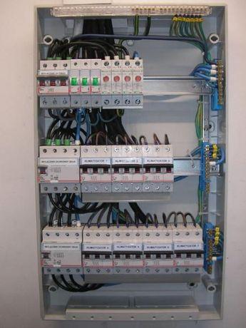 Elektryk, Instalacje elektryczne.