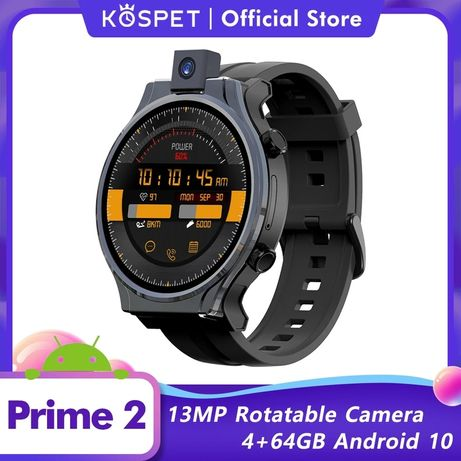 Kospet Prime 2 smartwatch, GPS, wifi, BT, 4G, gsm