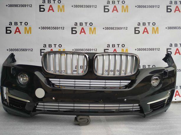 BMW X5 F15,Бампер передний,передній,комлпеткный на LED,БМВ Х5 Ф15