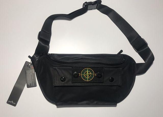 Баганка Stone Island/ сумка через плече/ сумка на пояс/ мессенджер/