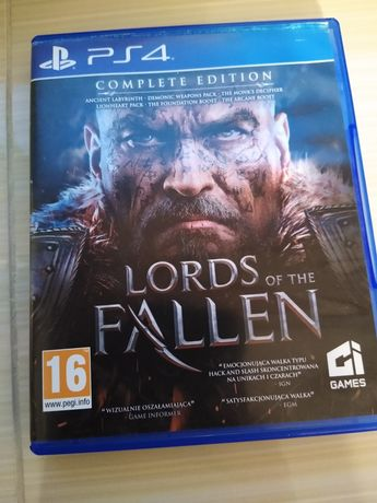 Lords of the fallen Complete Edition PS4 Wersja polska playstation