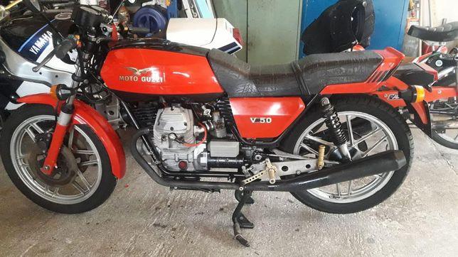 Moto Guzzi v50 rok 1978