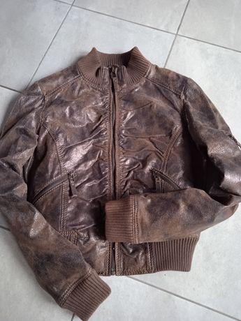 Куртка женская .Кожа р.46