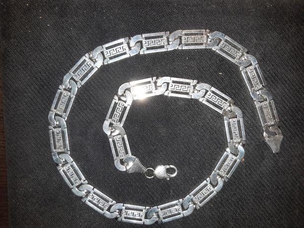 srebny łańcuch 107gr