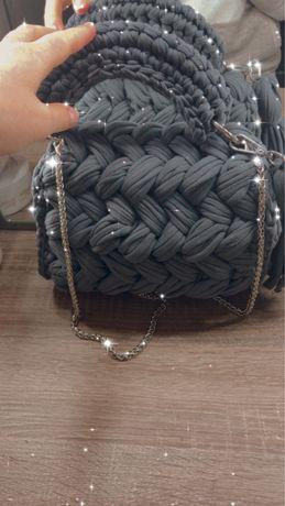 Трикотажная сумочка