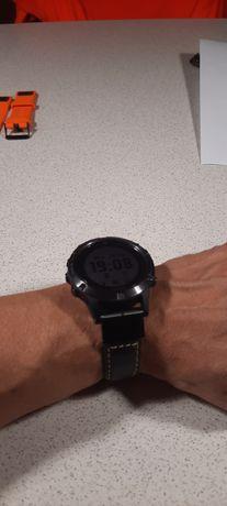 Skórzany pasek do zegarka firmy Garmin QuickFit 22 mm