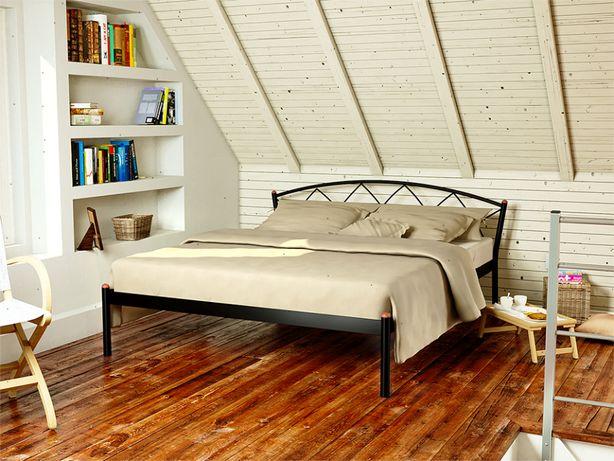 Кровать металлическая «ЖАСМИН-1», 160х200, производство Украина