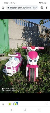 Продам машинку и мотоцикл. 500 грн за 2