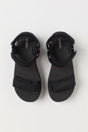 Босоножки (сандали) на платформе с застёжкой на липучку H&M