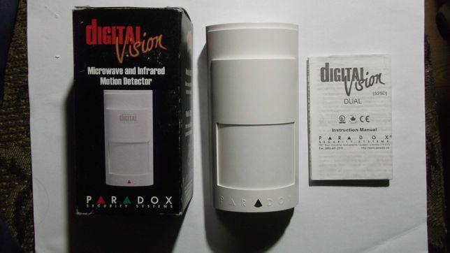 Микрохвилевой датчик Paradox 525D, Vision (ИК+МВ)